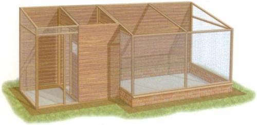Construction d 39 une voliere exterieure au paradis des for Oiseau de voliere exterieur