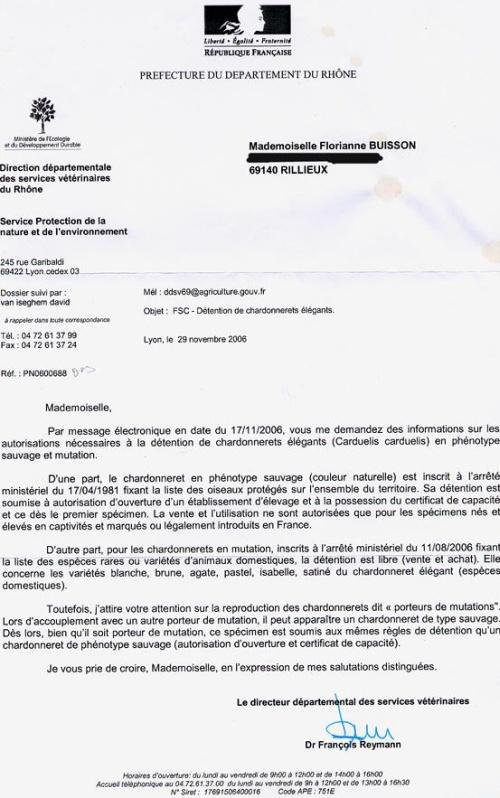 La législation sur la détention des oiseaux en France - Au